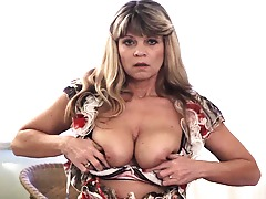 This warm MILF gets wet and wild on her own